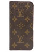 LOUIS VUITTON(ルイ ヴィトン)の古着「スマートフォンカバー」|ピンク×ブラウン