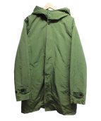 Sunny Sports(サニースポーツ)の古着「3WAYライナー付フーデッドコート」|グリーン