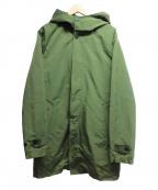 Sunny Sports(サニースポーツ)の古着「3WAYライナー付フーデッドコート」 グリーン
