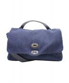 ZANELLATO(ザネラート)の古着「ポスティーナショルダーバッグ」|ブルー