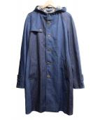 ()の古着「フーデットデニムコート」|インディゴ