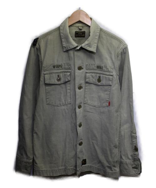 WTAPS(ダブルタップス)WTAPS (ダブルタップス) ミリタリージャケット カーキ サイズ:2 BUDS LS 01の古着・服飾アイテム