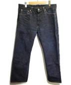 FULLCOUNT(フルカウント)の古着「セルビッチデニムパンツ」|インディゴ