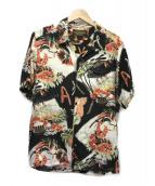 NEIGHBORHOOD × IOLANI(ネイバーフット×イオラニ)の古着「アロハシャツ」|ホワイト×ブラック
