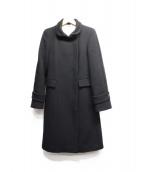 MaxMara(マックスマーラ)の古着「カシミヤ混ロングコート」|ブラック
