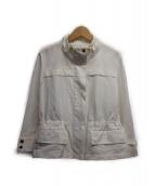 ()の古着「ジップアップジャケット」|ホワイト