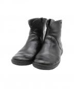 CAMPER(カンペール)の古着「サイドジップショートブーツ」 ブラック