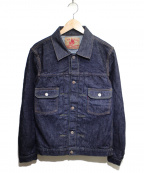 TCB jeans(ティーシービー ジーンズ)の古着「セカンドタイプデニムジャケット」|インディゴ