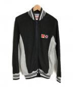 Pherrow's(フェローズ)の古着「BAKA PILE JACKET」|ブラック×グレー