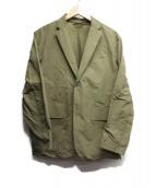 DESCENTE PAUSE(デサントポーズ)の古着「テーラードジャケット」 カーキ