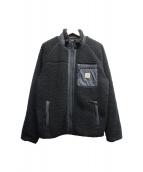 CARHARTT WIP(カーハート ダブリューアイピー)の古着「ボアフリースジャケット」 ブラック