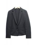 ()の古着「1Bニットジャケット」|ブラック