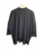 ADORE(アドーア)の古着「ストレッチヴィスコースニットプルオーバー」|ブラック