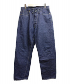 WAREHOUSE(ウエアハウス)の古着「セルビッチデニムパンツ」|インディゴ