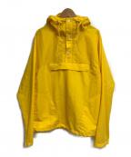 Battenwear(バテンウェア)の古着「アノラックパーカー」 イエロー