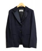 ()の古着「2Bジャケット」 ネイビー