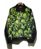 ()の古着「スカルパイルワークジャケット」|ブラック