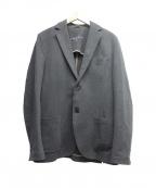 CIRCOLO 1901(チルコロ1901)の古着「カット地2Bジャケット」 チャコールグレー