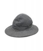 ()の古着「US NAVY HAT / HICKORY STRIPE」 ネイビー×ホワイト