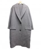 SOFIE DHOORE(ソフィードール)の古着「ウールチェスターコート」|グレー