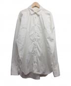 JUN MIKAMI(ジュン ミカミ)の古着「アルモコットンウエスタンシャツ」 アイボリー