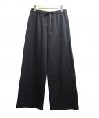 LE PHIL(ル フィル)の古着「ワッフルイージーパンツ」 ブラック