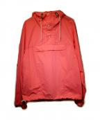 Battenwear(バテンウェア)の古着「ナイロンアノラックパーカー」 ネオンオレンジ
