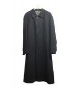 LOEWE(ロエベ)の古着「カシミヤブレンドステンカラーコート」|ブラック