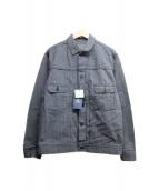 JAPAN BLUE(ジャパンブルー)の古着「2ndタイプトラッカージャケット」 インディゴ