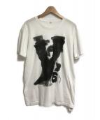 ()の古着「ドローイングプリントTシャツ」|ホワイト