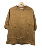 CULLNI(クルニ)の古着「ロゴTシャツ」 ブラウン