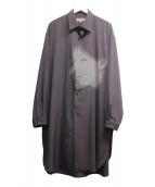 ()の古着「サヨウナラバ・シャツ」|チャコールグレー
