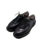foot the coacher(フットザコーチャー)の古着「カオスシューズ」 ブラック