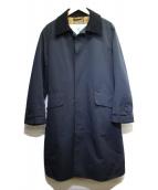 ()の古着「シングルブレステッドコート」|ネイビー