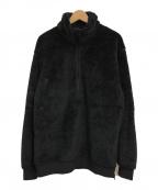 eN ROUTE(アンルート)の古着「POLARTECフリースハーフジッププルオーバー」|ブラック
