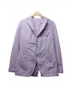 ()の古着「ギンガムチェック3Bジャケット」|パープル