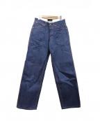 A vontade(アボンタージ)の古着「シンチバックペインターデニムパンツ」|インディゴ