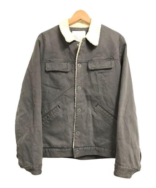 UNDERCOVER(アンダーカバー)UNDERCOVER (アンダーカバー) ボアワークジャケット グレー サイズ:3の古着・服飾アイテム