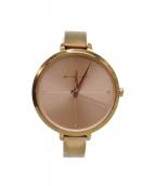()の古着「腕時計」|ピンクゴールド