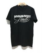 ()の古着「ロゴプリントTシャツ」|ブラック