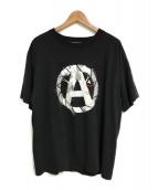 ()の古着「プリントTシャツ」|ブラック