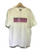GOOD ENOUGH(グッドイナフ)の古着「プリントTシャツ」 ホワイト