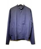 ()の古着「裾リブスタンドカラーブルゾン」|ネイビー