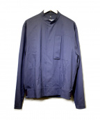 OAMC(オーエーエムシー)の古着「裾リブスタンドカラーブルゾン」|ネイビー