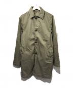 save khaki united(セーブカーキユナイテッド)の古着「ステンカラーコート」|ベージュ