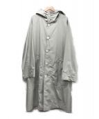 ()の古着「HOGGIEフーデッドコート」|グレー