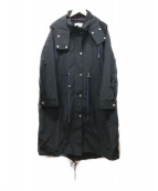 R-ISM(リズム)の古着「コットンナイロンモッズコート」|ネイビー