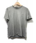 ()の古着「ワンポイントロゴ刺繍Tシャツ」|グレー