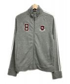 ()の古着「ジップアップスウェットジャケット」|グレー