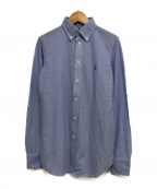 RALPH LAUREN(ラルフローレン)の古着「ロングスリーブシャツ」 ブルー